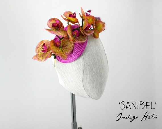 SANIBEL - Orchid Fascinator
