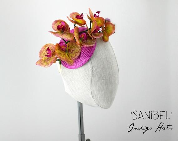 SANIBEL - Orchid Fascinator