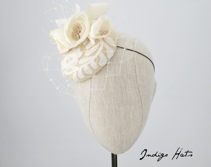 Ivory Special Occasion Hat