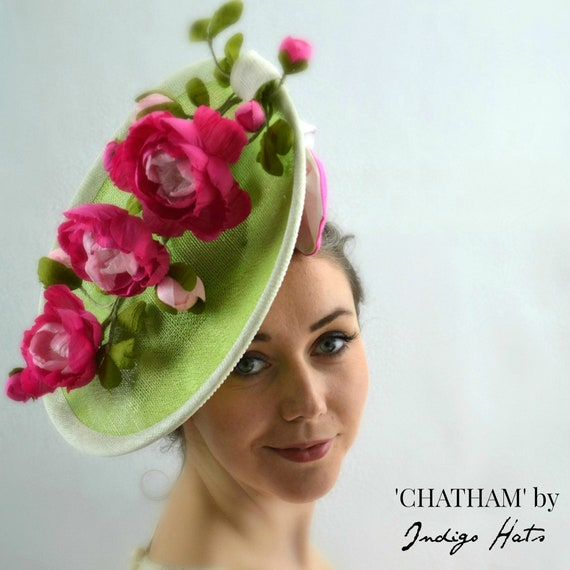 CHATHAM - Pink & Green Saucer Percher