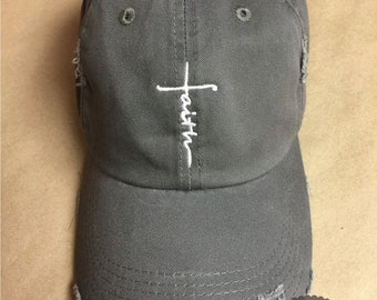 2b9deca3c6e Embroidered Faith Hat