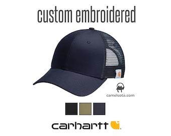 85282cf6 Custom Carhartt Rugged Professional Series Cap, Custom Logo on Carhartt Cap,  Custom Embroidered Carhartt Cap Custom Monogrammed Carhartt Cap