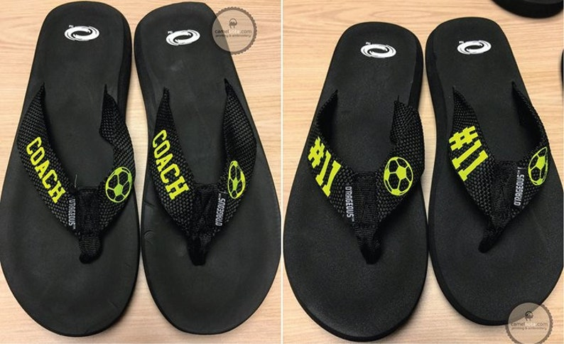 8abb7bbb45a2 Personalized O Rageous Women s Belted Thong Sandals