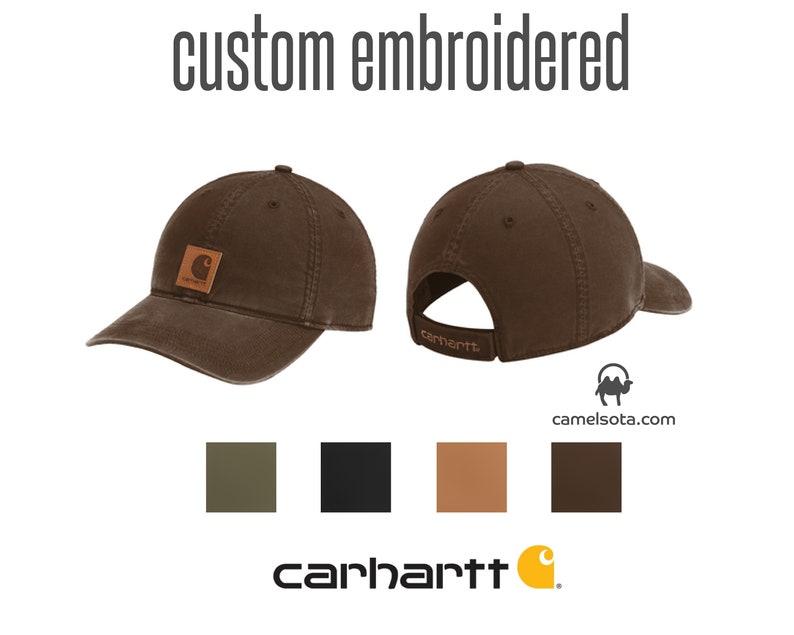 fe4c3f1c848f5 Custom Carhartt Odessa Cap Custom Carhartt Cap Custom Logo on