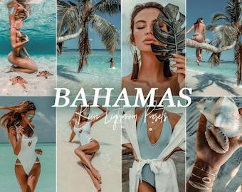 BAHAMAS islands LIGHTROOM mobile & desktop tropical beach presets /beach travel blogger instagram filter preset