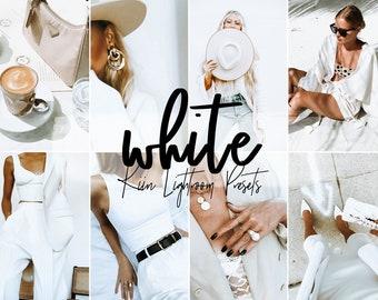 white presets