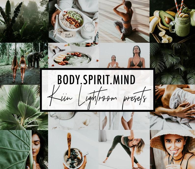 HEALTH JUNKIE Lightroom mobile & desktop PRESETS / yoga, vegan, health,  fitness preset