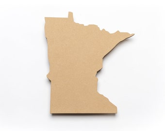 "Wood-Minnesota-3/8""Thick x 12""H x 11""W"