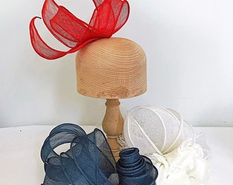 Bias Sinamay Trim - For Hats, Fascinators & Craft Use - 50cm * 90cm
