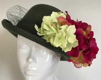 Henley with Henri - Hat Couture Wedding/Races/Mother of the Bride Designer Hat
