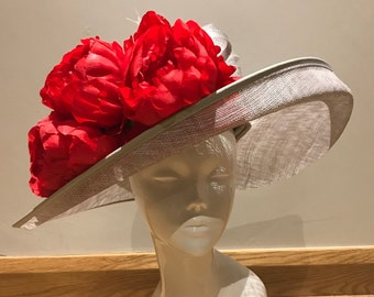 Kiss Me Marilyn - Hat Couture Wedding/Races/Mother of the Bride Designer Hat