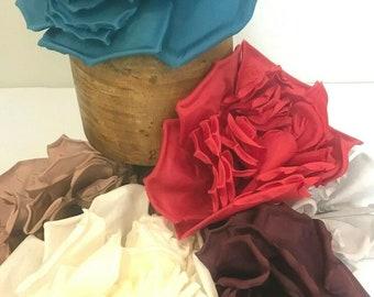 """Lulu Extra Large 26cm (10"""") Millinery Flower Hat Mount - 6 Unique Colours!"""
