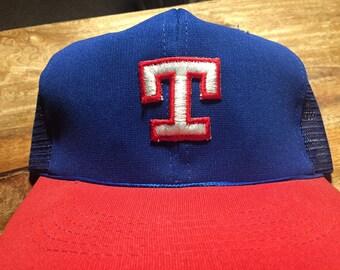 4a42b7c5 ... vintage 70s 80s texas rangers baseball hat