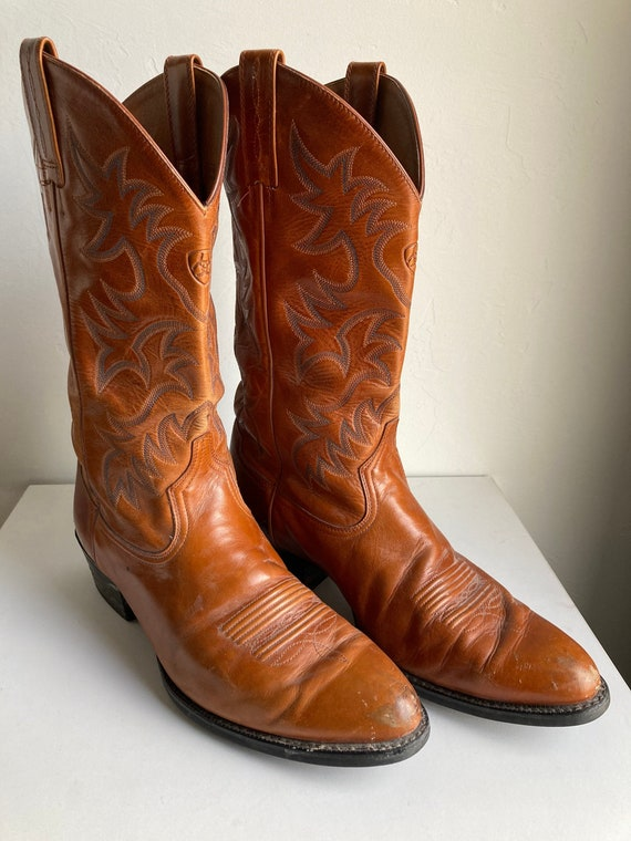 Ariat Leather Cowboy Boots (Size 12)