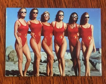 Baywatch, Refrigerator Magnets, Fridge Magnets, Office Magnets
