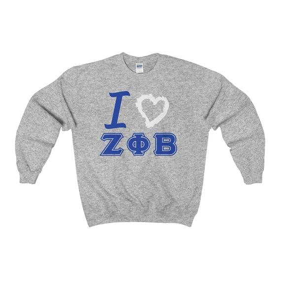 Zeta Phi Beta Sweatshirt Zeta Phi Beta 1920 Zetas Etsy