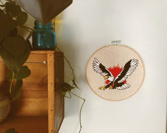 683408608 sailor jerry flash inspired eagle embroidery
