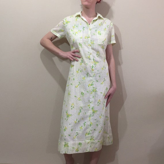 Vintage 60's Lilly Pulitzer Neon Floral Day Dress