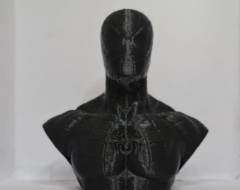 spiderman bust for painting 3d printing