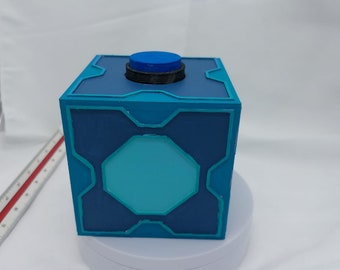 Mr. Meeseeks Box the 3d printed prop ( don't do anything) but cool painted