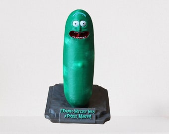 Pickle Rick !!!    12cm / 4.7 inch paintd or kit for painting
