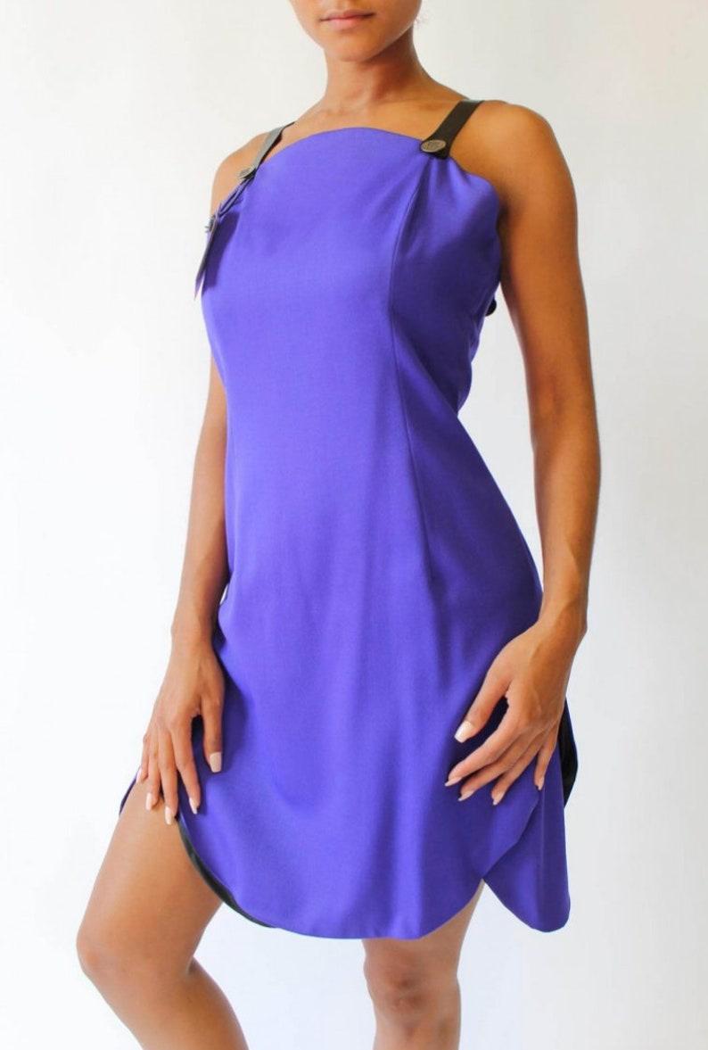 BRUNO IERULLO Designer 100/% French Wool Women/'s Dress