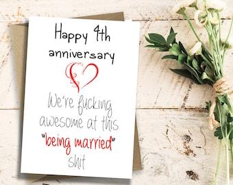 Wedding Anniversary By Year.4 Year Anniversary Etsy
