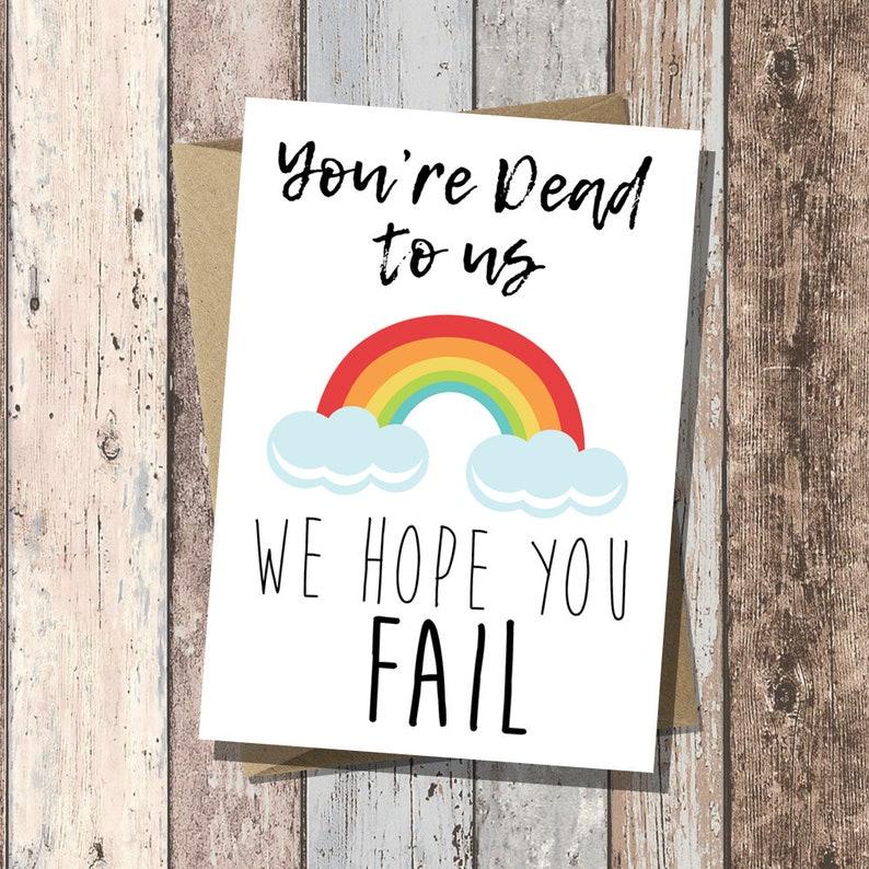 funny new job card leaving card good luck new job  etsy