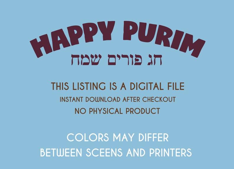 Purim Characters Purim decorations Judaica Purim Mask Mordechay Mask Purim Tradition Purim Kids Game Purim Costume Purim