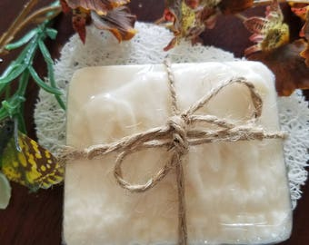 Goat Milk Soap (assortment) with extra virgin coconut oil and olive oil (Love Spell, Rain Garden & Lavender, and Salty Sea Air)