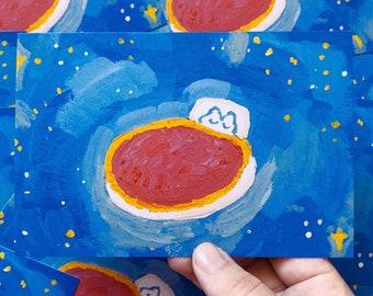 Dreaming 4 x 6 Postcard Print