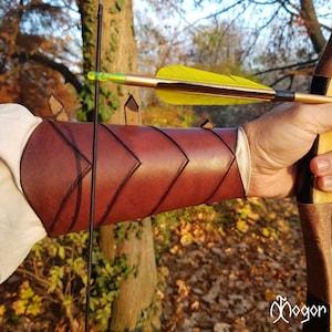 #DK6107 Traditional and Fantasy Archery Gear Dragonscale Archers Arm Guard