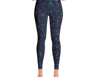 9a0cc4a86648a Star constellation workout leggings