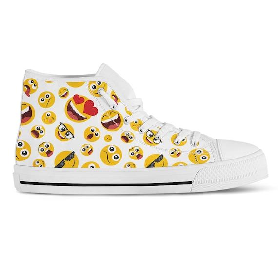 Emoji Sneakers Custom High Top Sneakers