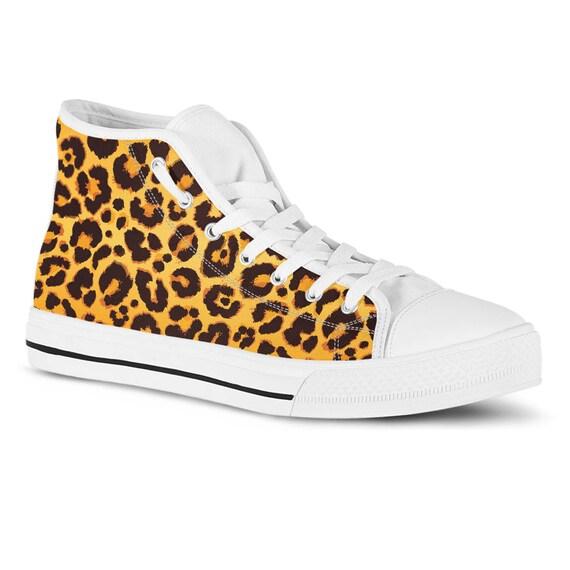 Leopard print sneakers cheetah print