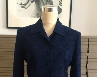 Vintage Caroline Charles suit.