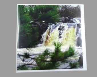 Low Force Waterfalls Greeting Card