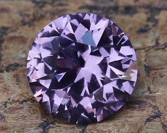 2.15ct Natural Lavender Spinel | Faceted | Round Shape | Violet Gemstone | Loose Spinel