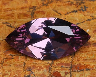 2.02ct Lavender Spinel | Natural | Faceted | Marquise Shape | Purple Gemstone | Loose Spinel