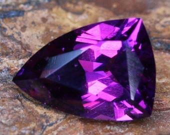 2.59ct Natural Purple Garnet | Shield Cut | Faceted | Purple Stone | Loose Garnet | Purple Garnet