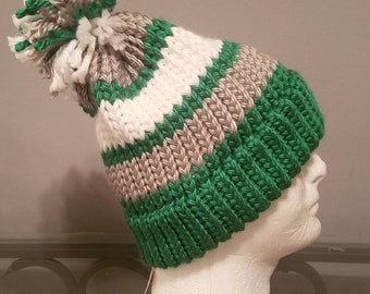 Handmade throwback Philadelphia Eagles knit winter hat! 0ca95b69c