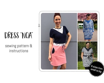 """Dress """"Noa"""" Sewing pattern & detailed instructions"""