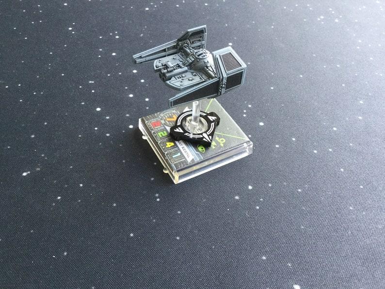 X-wing 2.0 compatible Aurebesh acrylic ArcID Small set