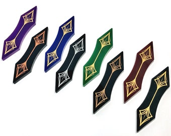 Path Markers (double sided) for Arkham horror LCG compatible