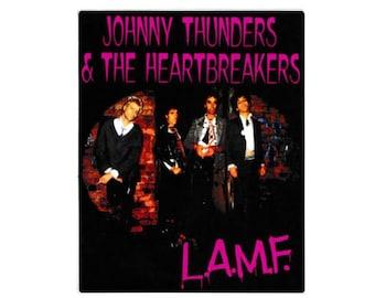 Johnny Thunders & the Heartbreakers Vinyl Sticker - L.A.M.F. - Punk Sticker - 1977 - Original Punk Rock -