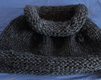 Hand Knitted Capelet-Outlander Style