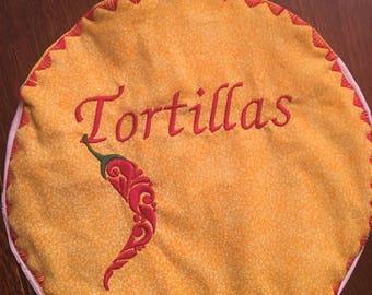 Tortilla warmer small 9 in,
