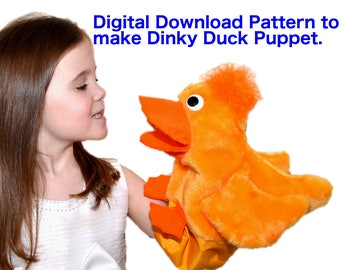 05. Dinky Duck Pattern by Church Puppets