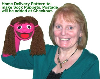 04. Sock Puppet Pattern by Churchpuppets