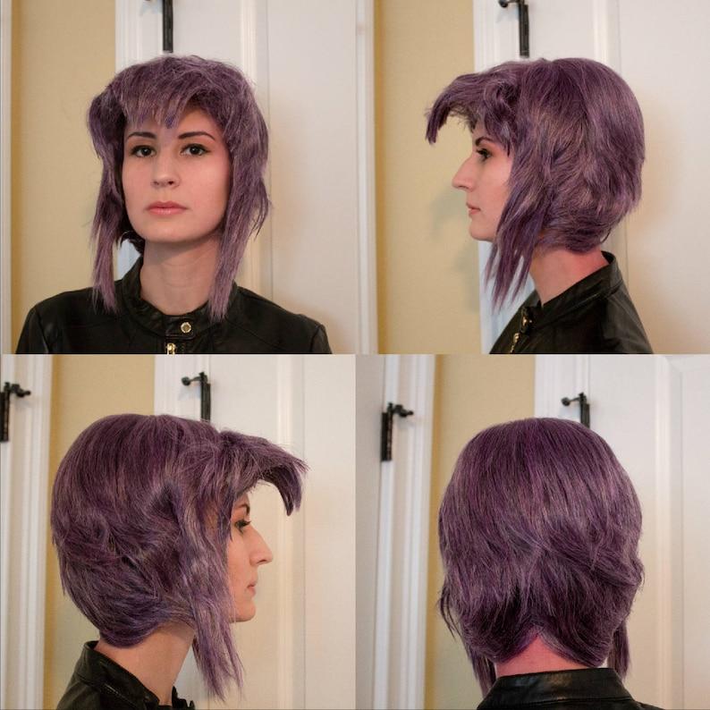 Major Kusanagi Ghost in the Shell Cosplay Wig